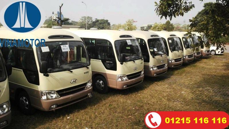 Xe khách Hyundai County Đồng Vàng 29 Chỗ