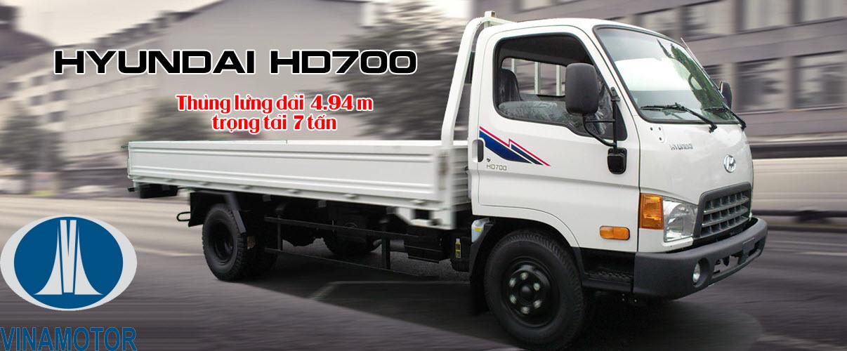 HD700 Đồng Vàng Thùng Lửng