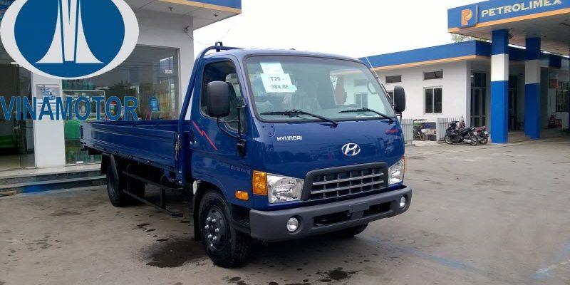 Giá lăn bánh xe tải HD700 Đồng Vàng