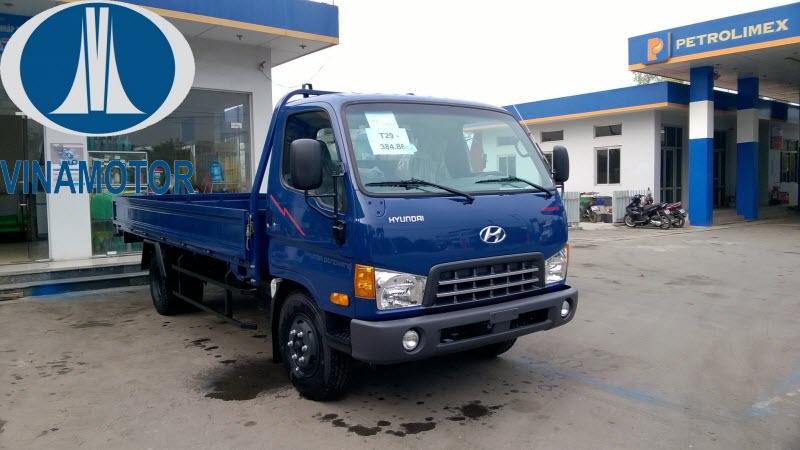 Xe tải 7 Tấn HD700 Đồng Vàng Thùng Lửng
