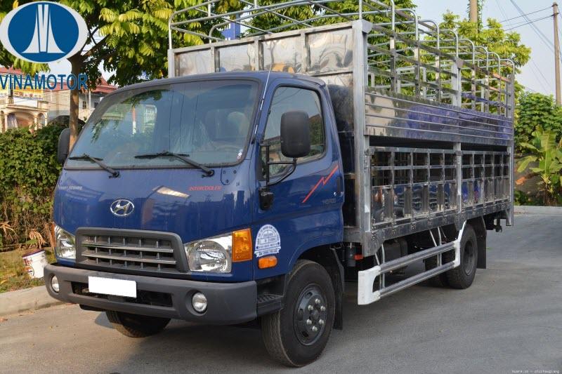 Xe tải chở lợn Hyundai HD700 Đồng Vàng 7 Tấn