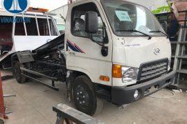 Xe cứu hộ giao thông sàn trượt Hyundai HD700 Đồng Vàng