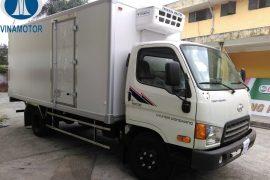 Xe tải HD700 Thùng Đông Lạnh 7 Tấn Đồng Vàng