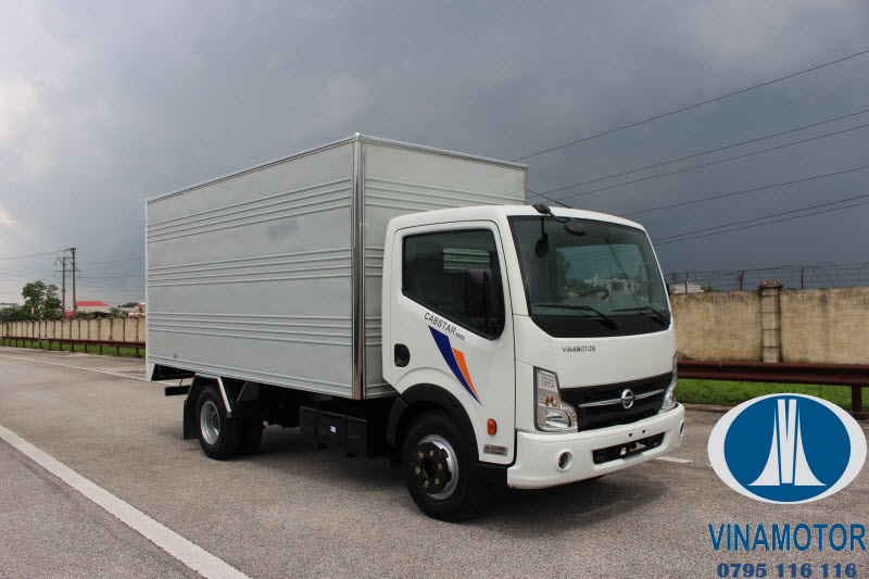 Xe tải Nissan Cabstar NS200 Thùng Kín