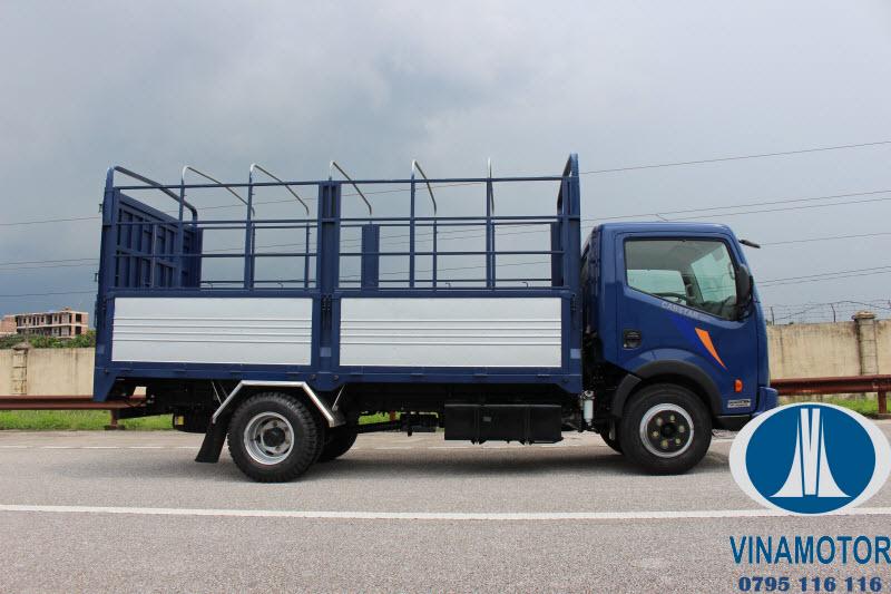 Xe tải Nissan Cabstar NS200 Thùng Mui Bạt