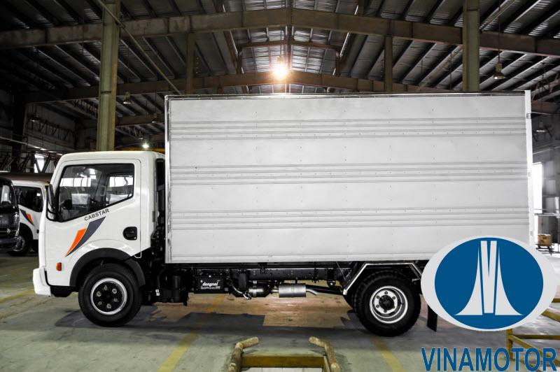 Xe tải Vinamotor Cabstar NS350 3.5 Tấn Thùng Kín