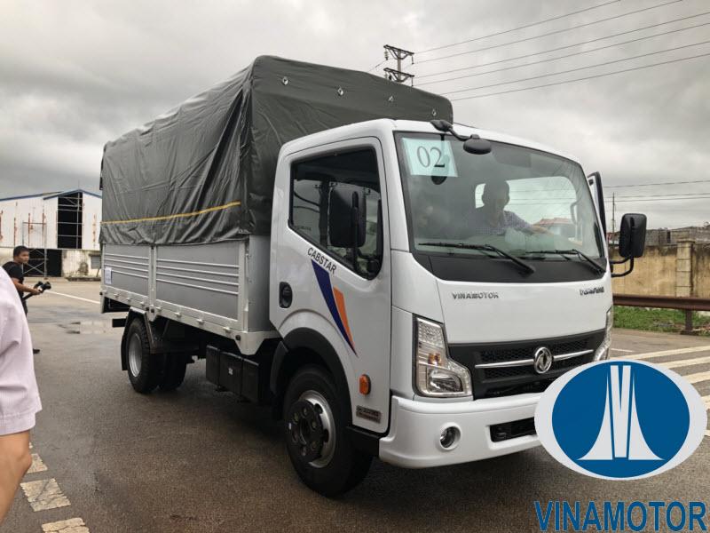 Xe tải Vinamotor Cabstar NS350 3.5 Tấn Thùng Mui Bạt