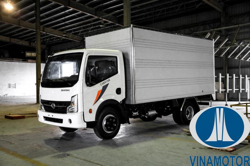 Xe tải Vinamotor Cabstar NS200 1.9 Tấn Thùng Kín