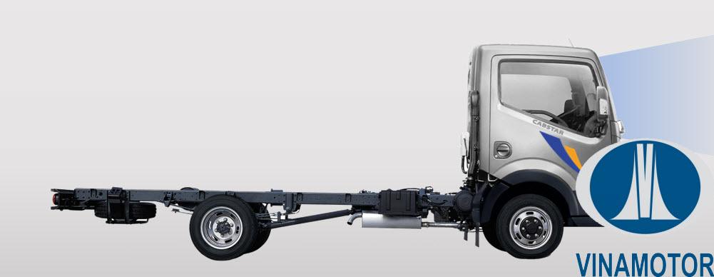 Xe tải Vinamotor Cabstar NS350 3.5 Tấn