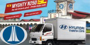 Chính thức Hyundai New Mighty N250SL ra mắt khách hàng