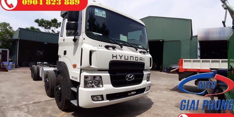 Thông số kỹ thuật xe Hyundai HD320