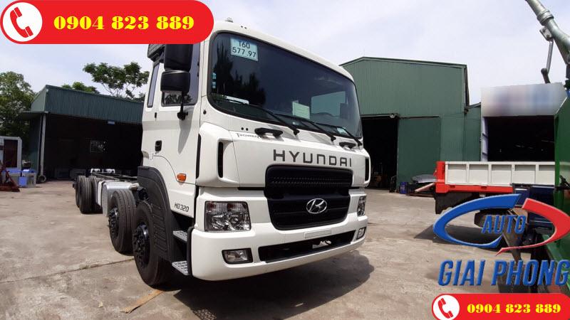 Thông số xe Hyundai HD320