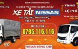 Lái Thử Xe Tải Nissan Tại Chợ Đầu Mối Rau Vân Nội